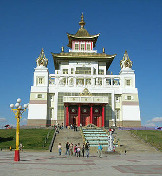 Kalmykia - The Golden Temple in Elista