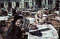 Goll Bea színművésznő, 1943 Budapest. Fortepan 92588.jpg