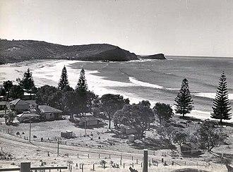 Avoca Beach, New South Wales - Avoca Beach in the 1950s