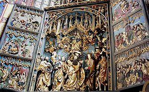 Veit Stoss - Wooden Altar of Veit Stoss at St Mary's Church in Kraków