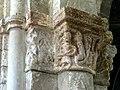 Gournay-en-Bray (76), collégiale St-Hildevert, chœur, 2e grande arcade du sud, chapiteau côté est 2.jpg