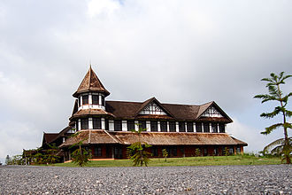 Pyin Oo Lwin - Summer Palace of the Governor of British Burma, located in Pyinoolwin