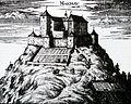 Grad Mehovo na Valvasorjevi upodobitvi leta 1679.JPG