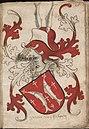 Graeue van Salmen - Graaf van Salm - Count of Salm - Wapenboek Nassau-Vianden - KB 1900 A 016, folium 16r.jpg