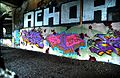 Graffiti at Broad Street Aqueduct in Rochester, NY 2.jpg