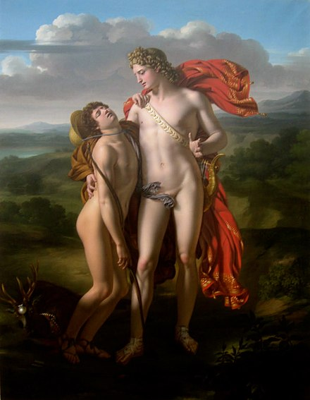 Apollo and Cyparissus, by Jean-Pierre Granger (1779-1840) Granger-Apollo.jpg