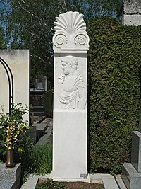 Grave of Theodor Gomperz and Elise Gomperz (née Sichrovsky), Vienna, 2018.jpg