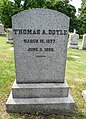 Grave of Thomas A. Doyle, Mayor of Providence, at Swan Point.jpg