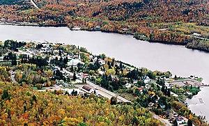 Saint-Maurice River - Saint-Maurice River at Grandes-Piles