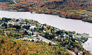 Saint-Maurice River river of the North shore of St. Lawrence, in Mauricie, in Quebec, in Canada