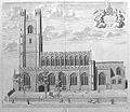 Great St Mary's, Cambridge by Loggan 1690 - sanders 26302.jpg