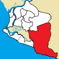 Greater Monrovia District - Paynesville City Corporation highlighted.png