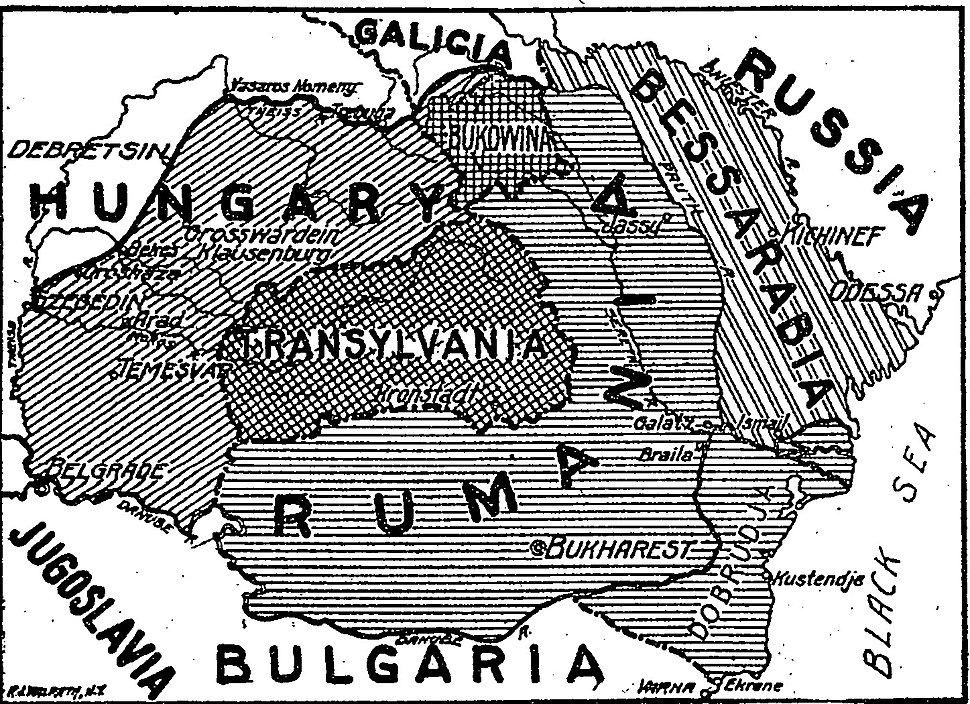 Greater Rumania, New York Times, 1919
