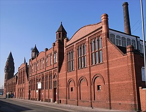 Birmingham Baths Committee - Green Lane Masjid (mosque), formerly Green Lane Public Library and Baths (Martin & Chamberlain 1893-1902