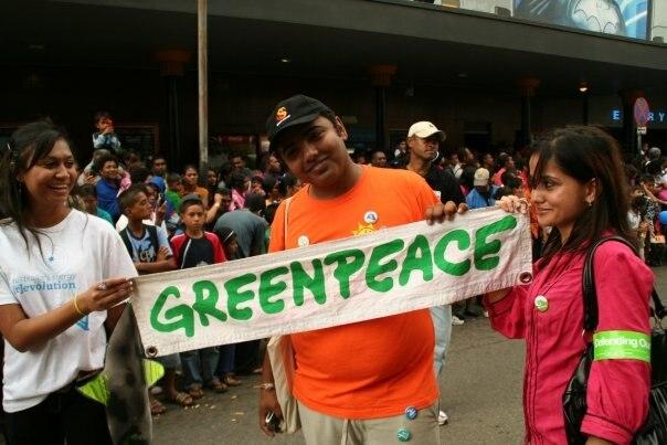 Greenpeace March 2009
