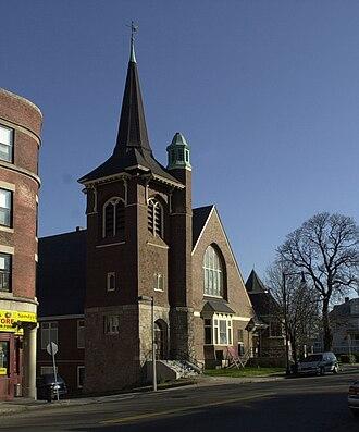 Greenwood Memorial United Methodist Church - Image: Greenwood Memorial United Methodist Church Boston MA 02
