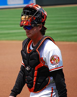 Gregg Zaun - Zaun with the Baltimore Orioles