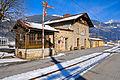 Greifenburg altes OEBB-Stellwerk und Bahnhof Greifenburg-Weissensee 23012011 463.jpg