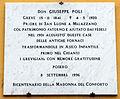 Greve, lapide giuseppe poli, 1996.JPG