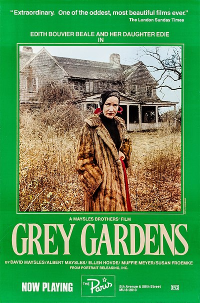 Picture of a movie: Grey Gardens
