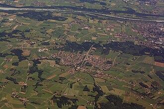 Großkarolinenfeld - Großkarolinenfeld aerial view