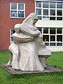 Groningen - Nog bij moeder (1963) van Anna Dekking-van Haeften - 3.jpg