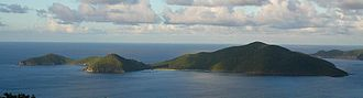Guana Island - Guana Island seen from Tortola