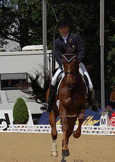 Olympic medalist in equestrian