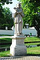 GuentherZ 2013-07-14 0300 Strass im Strassertale Statue Johannes Nepomuk.JPG