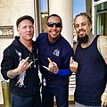 Guess who we ran into?! Corey Taylor from Slipknot and Fieldy from Korn!! They're performing TONIGHT at the El Paso County Coliseum! -ItsAllGoodEP (15475204017).jpg