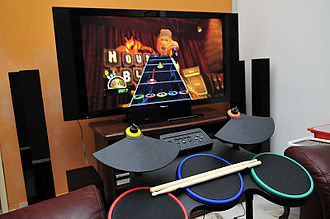 Guitar Hero World Tour - PS3 version of the Guitar Hero World Tour drum kit