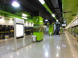Guoquan Road station Shanghai Metro station