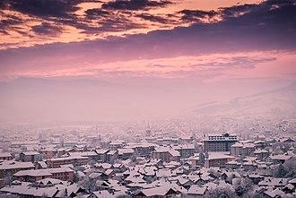 Gura Humorului - Image: Gura Humorului 725300, Romania panoramio (1)