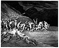 Gustave Doré - Dante Alighieri - Inferno - Plate 10 (Canto III - Charon herds the sinners onto his boat).jpg