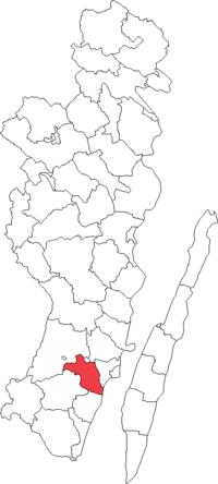 Ljungbyholms landskommune i Kalmar amt