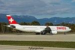 HB-JHL Airbus A330-343 A333 - SWR (30738156502).jpg