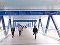 HK 中環 Central Waterfront promenade 民耀街 Man Yiu Street footbridge view March 2020 SSG 12.jpg