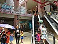 HK 屯門 Tuen Mun 建生商場 Kin Sang Shopping Centre interior escalators n visitors July 2016 DSC.jpg