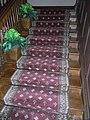 HK Mid-Levels Castle Road Dr Sun Yat-Sen Museum wooden stairs carpet Sept-2012.JPG