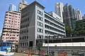 HK Tram tour view 德輔道西 Des Voeux Road West 西區警署 Western Police facade August 2017 IX1.jpg