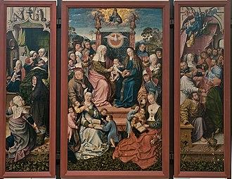 Historical Museum, Frankfurt - Image: HMF Altar Hl Anna DSC 1505 6321