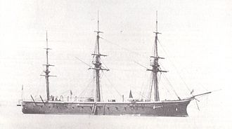 HMS Bellerophon (1865) - Image: HMS Bellerophon (1865)