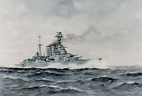 Image illustrative de l'article HMS Hood (51)