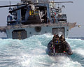HMS St Albans Boarding Team Returns to the Ship MOD 45156182.jpg