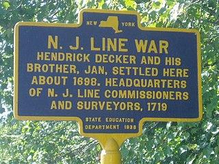 New York – New Jersey Line War