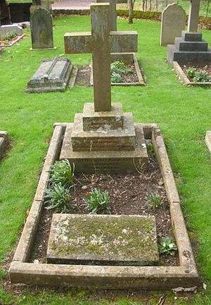 Arthur Lyttelton - St John the Baptist Church, Hagley, grave of Arthur Temple Lyttelton (1852–1903), Bishop of Southampton.