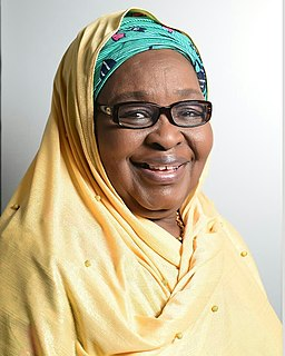 Saratu Iya Aliyu 20th president of the Nigerian Association of Chambers of Commerce, Industry, Mines and Agriculture