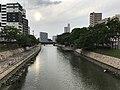 Hakatagawa River from Higashi-Nakashimabashi Bridge (north).jpg