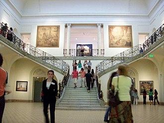Evita Fine Arts Museum - Central exhibit hall