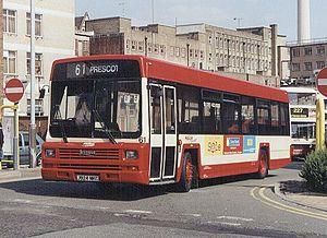 Halton Transport - Leyland Lynx in Liverpool